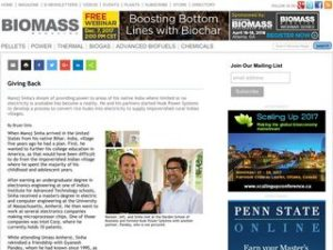 Giving Back in Biomass Magazine